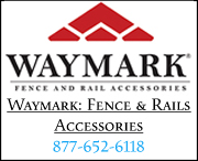 Waymark:Fence and Railing Accessories